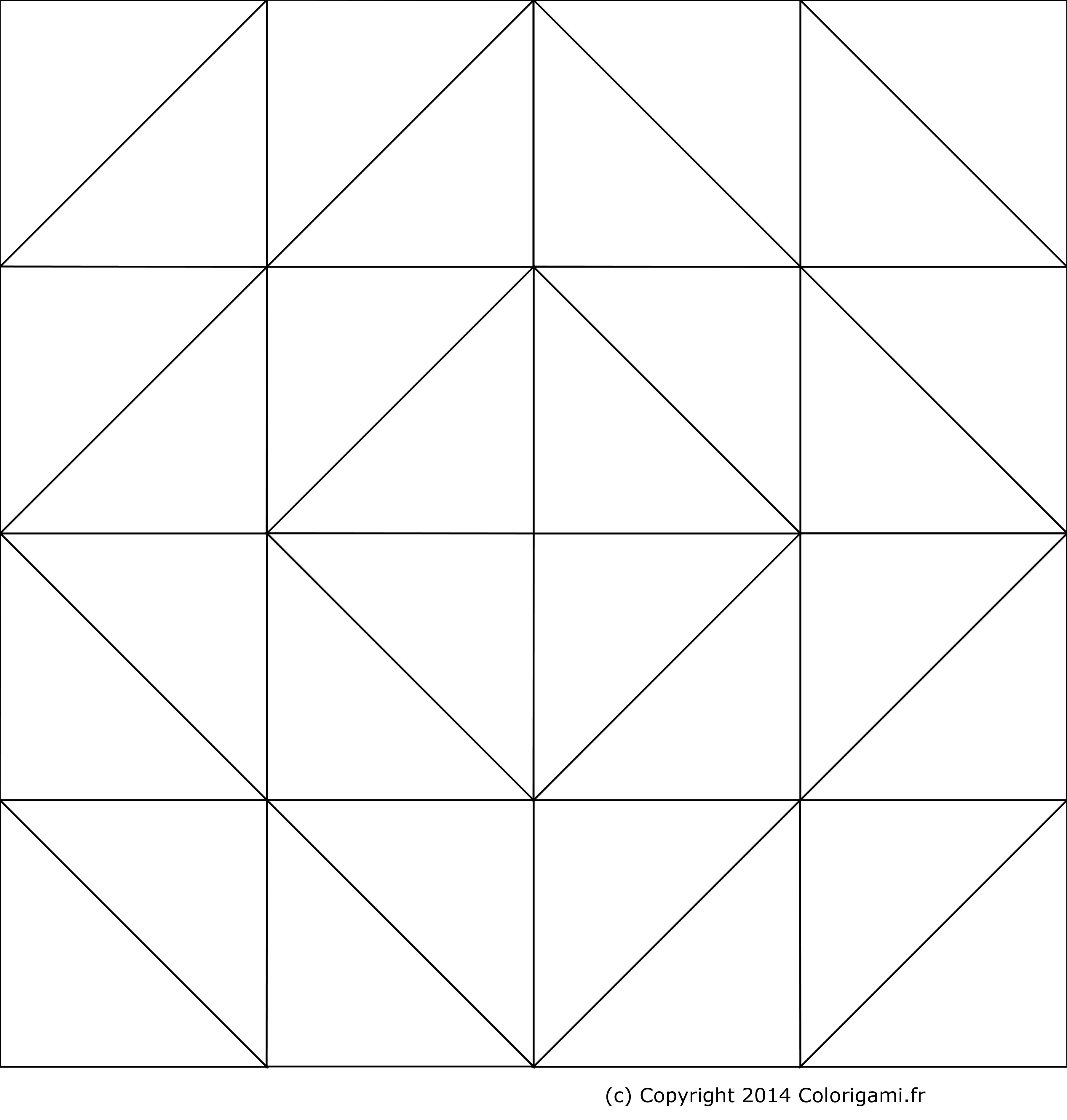 Boîte En Origami