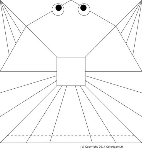 Origami A Imprimer Facile
