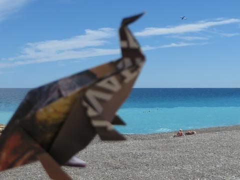 Dinosaure à Nice