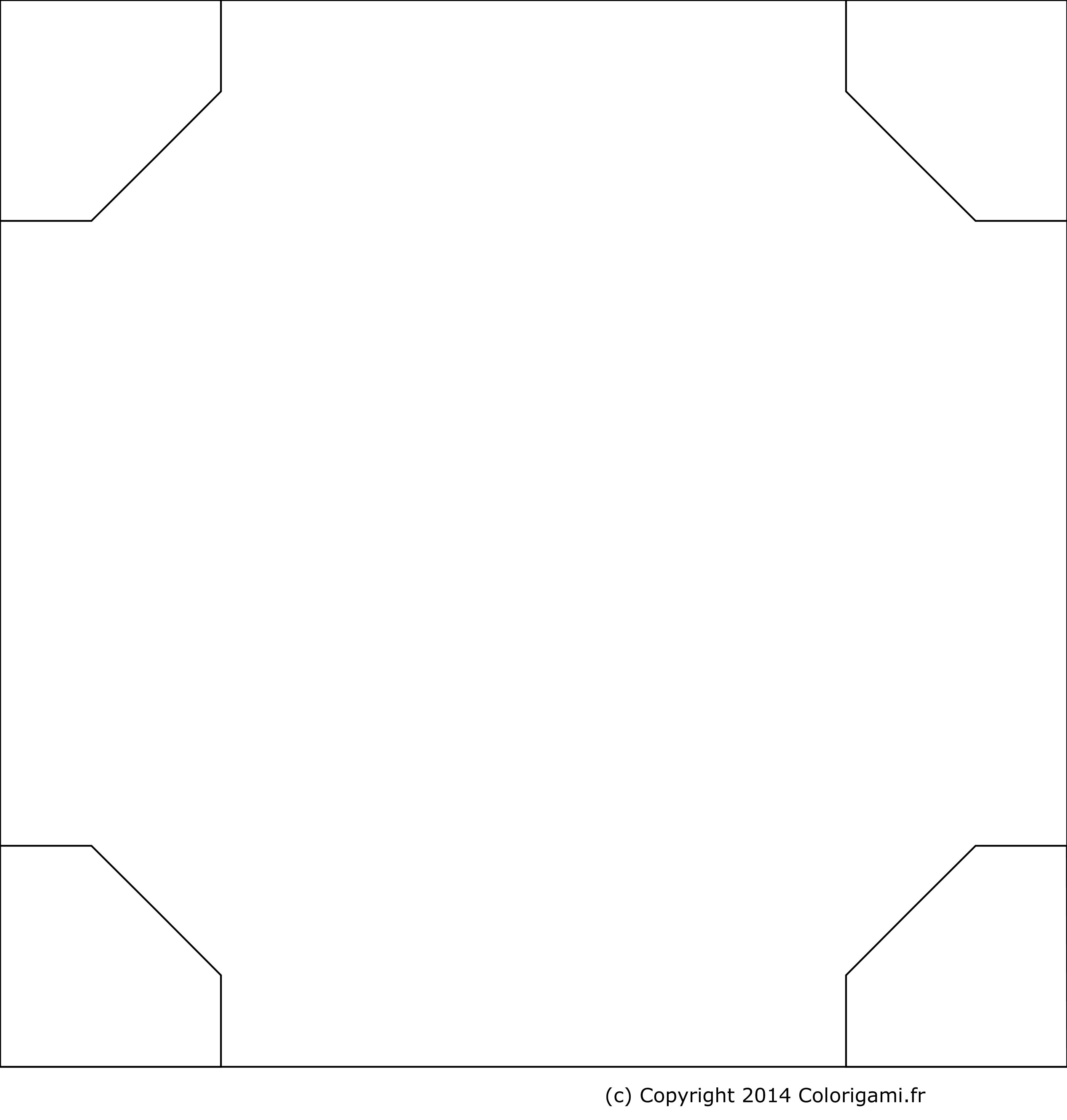 Coloriage Panier De Fraises.Fraise En Origami Gonflable En 3d