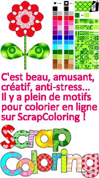 Coloriage en ligne sur ScrapColoring